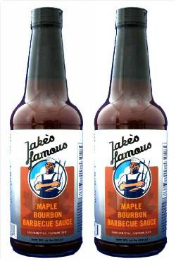 Maple Bourbon BBQ Sauce for sale 12 Oz 2 Pack 20% OFF